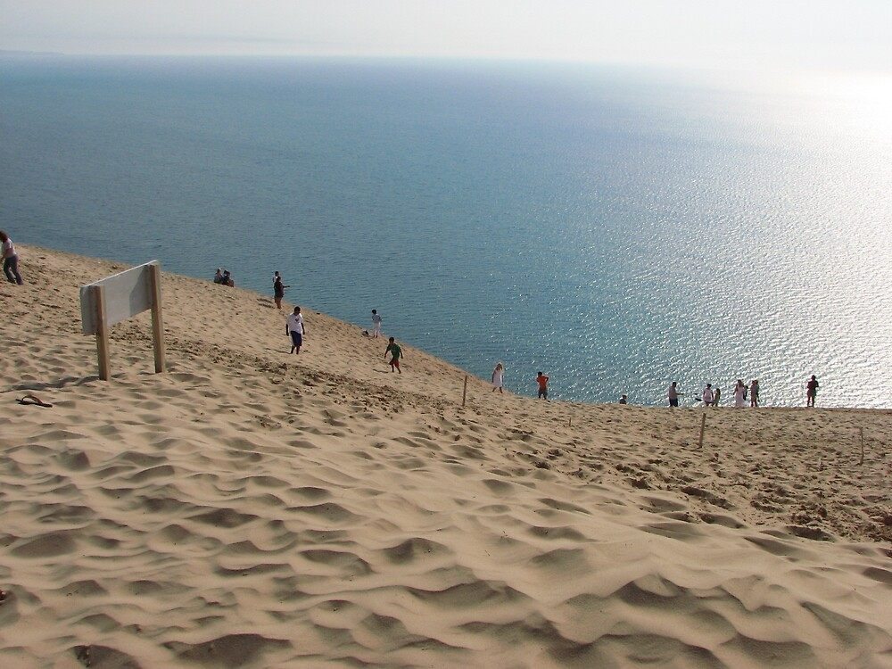 LAKE MICHIGAN SAND DUNE by Paul Smileatu