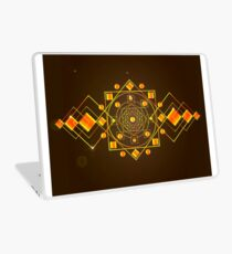 the cosmic mandala Laptop Skin