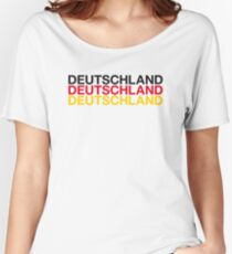 GERMANY Women's Relaxed Fit T-Shirt