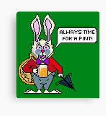 Always Time For A Pint! Canvas Print