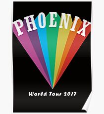 Phoenix World Tour 2017 Poster