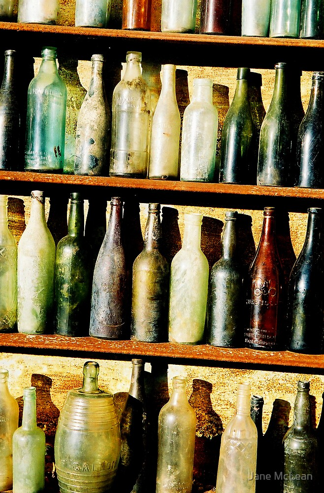 Bottles2 by Jane McLean