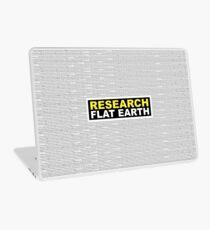 RESEARCH FLAT EARTH MULTI-LANGUAGE Laptop Skin