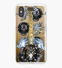 Fusion Keyblade Guitar #38 - Fenrir & Sleeping Lion iPhone Case/Skin