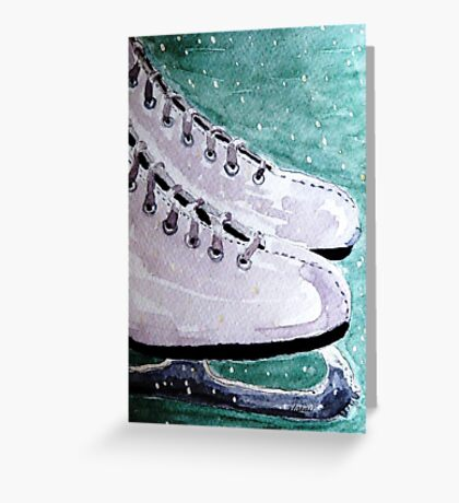 To Skate Greeting Card