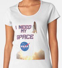 I need my space NASA LOGO Women's Premium T-Shirt