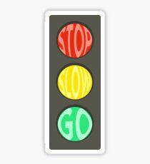 Stoplight Sticker