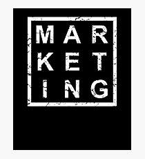 Stylish Marketing Photographic Print