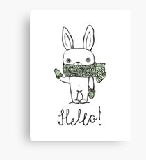 Cute Rabbit Canvas Print