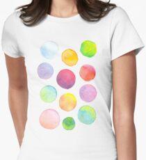 Blending Bubbles Women's Fitted T-Shirt