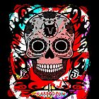 SKULL CULT RED CRASSCO von fuxart