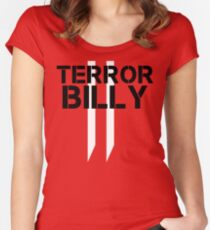 Terror Billy - Wolfenstein: The New Colossus Women's Fitted Scoop T-Shirt