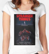 Stranger Things Demogorgon (Shark) Women's Fitted Scoop T-Shirt