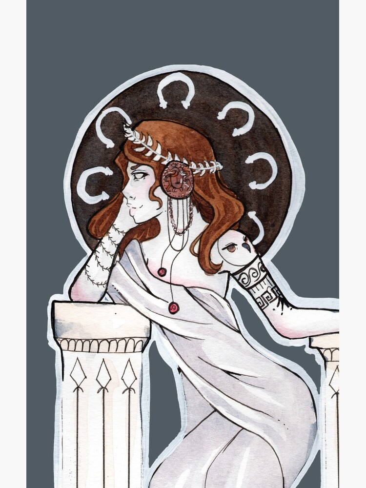 Athena by bdesantisart