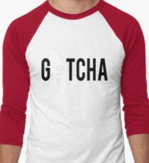 Finger Circle Game T-Shirt Gotcha Men's Baseball ¾ T-Shirt