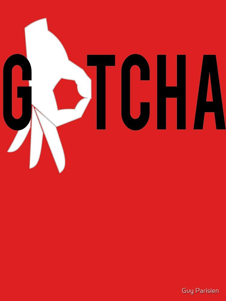 Finger-Kreis-Spiel-T-Shirt Gotcha von plante0102