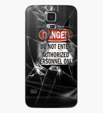Do Not Enter Broken Glass Case/Skin for Samsung Galaxy