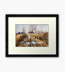 "Last Autumn (From series ""Nostalgie"") Framed Print"