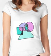 Wiggle Women's Fitted Scoop T-Shirt