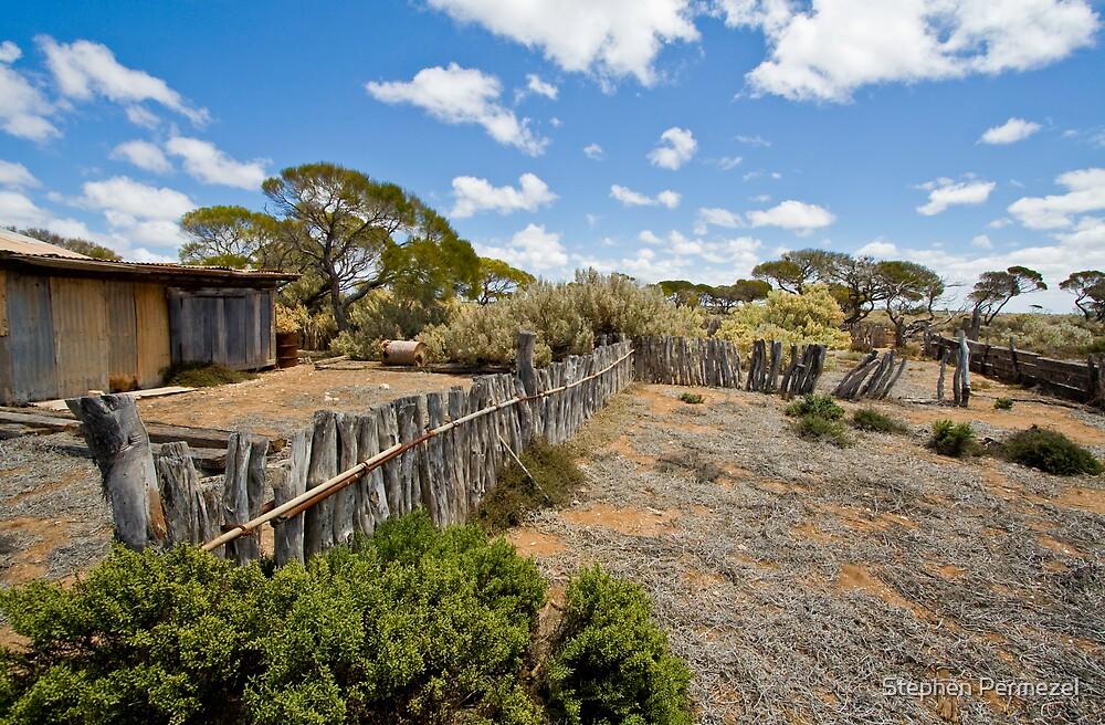 Koonalda Sheep Yard - Nullarbor Plain, South Australia by Stephen Permezel