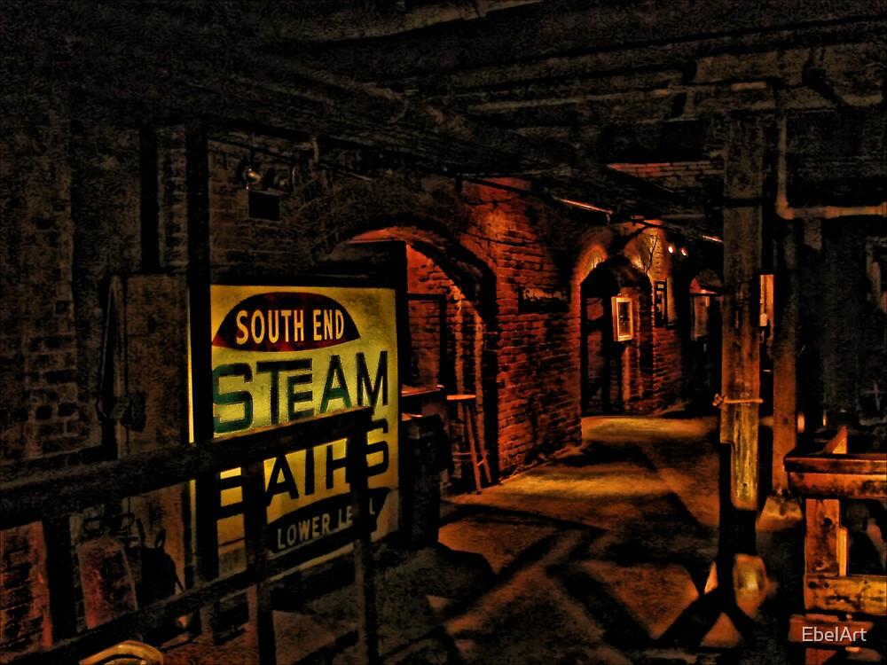 Seattle Underground III by EbelArt