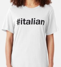 ITALIAN Slim Fit T-Shirt
