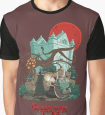 Blood Echo Time Graphic T-Shirt