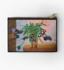 Bowing Tulips Zipper Pouch