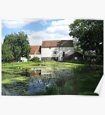 Memories of Suffolk - Pakenham Water Mill Poster