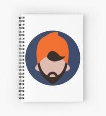 Cuaderno de espiral Artful Dodge Face
