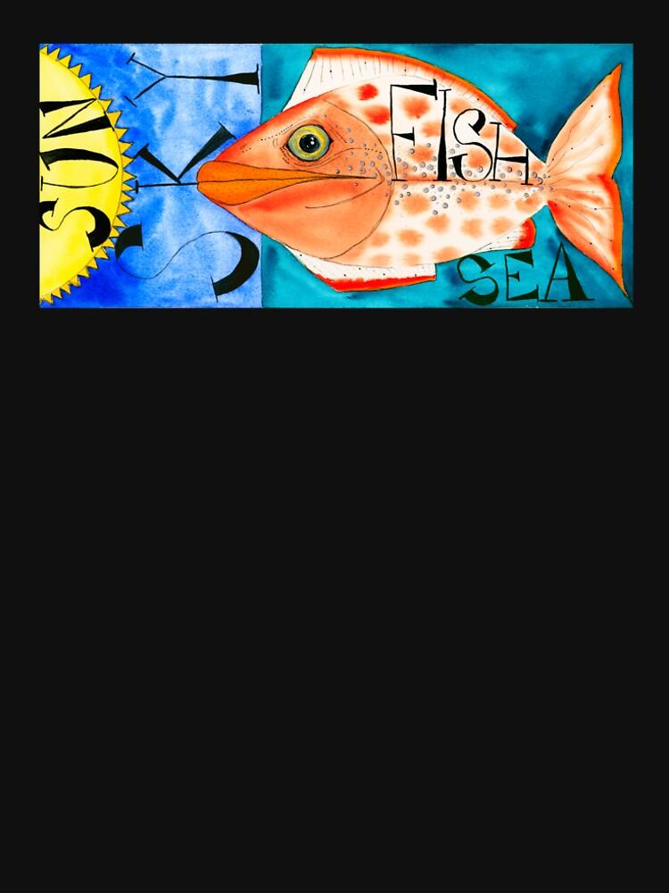 Sun, Sky, Fish, Sea by wildalive