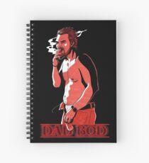 Hopper's Dad Bod Spiral Notebook