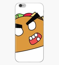 angry zombie taco iPhone Case