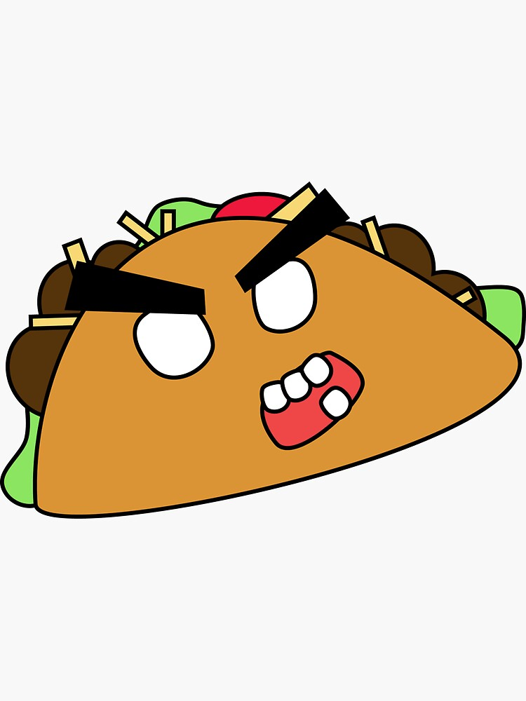 angry zombie taco by shortstack