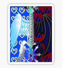 Fusion Keyblade Guitar #52 - Oathkeeper & Oblivion Sticker