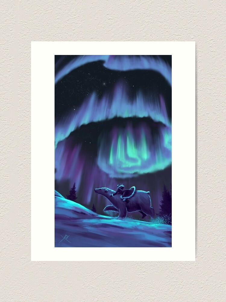 Alternate view of His Dark Materials - Fan Art Art Print