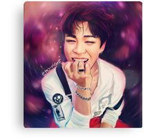 Jimin Vortex Canvas Print