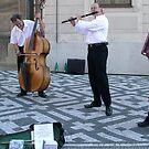 Street Muscians - Prague by chijude