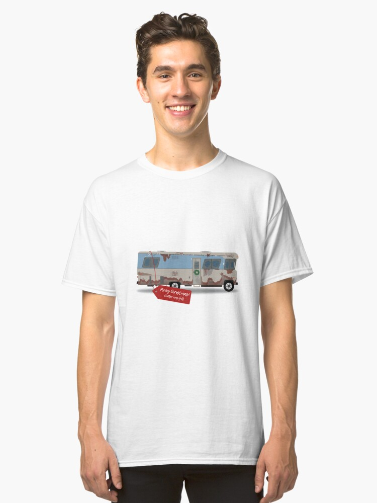 cousin eddie christmas vacation rv classic t shirt front - Eddie Christmas Vacation