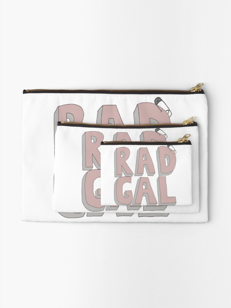 Alternate view of Rad Gal Zipper Pouch