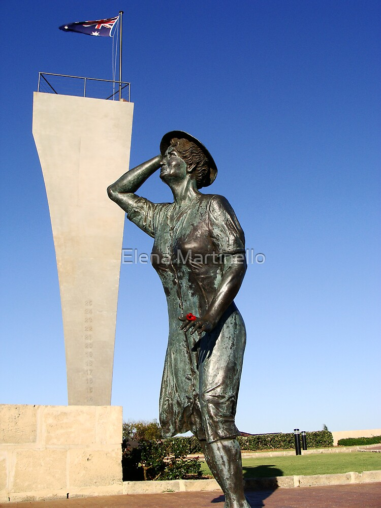 Geraldton monument by Elena Martinello