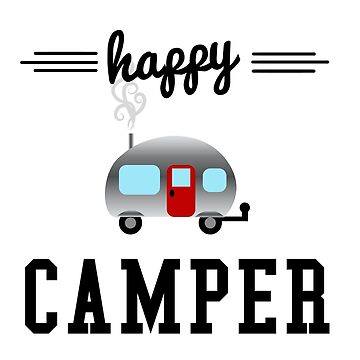 Happy Camper  by NobleImages
