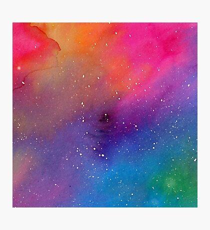 Watercolor Space 1 Impression photo