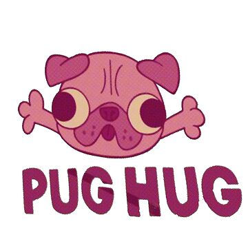 Pug Hug by outofflow