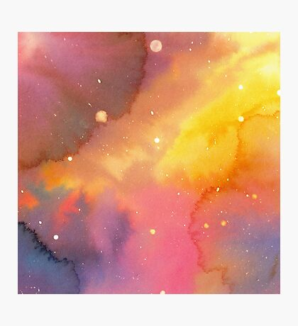 Watercolor Space 2 Impression photo