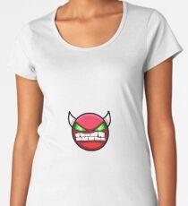 Geometry Dash harter Dämon Frauen Premium T-Shirts