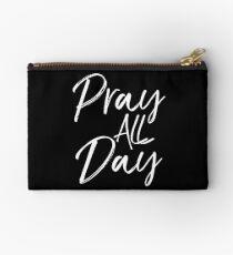 Pray all Day Studio Pouch