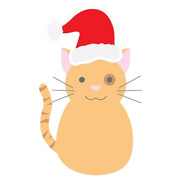 Cristmas cat by hamzabarcelonaa