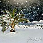 ALOHA TREE  by WhiteDove Studio kj gordon