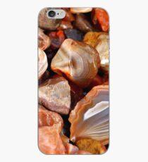 Lake Superior Agate Beach iPhone Case